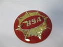 Picture of BADGE, TANK, BSA, RED, 4''