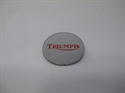 Picture of BADGE, TANK, CTR, SILVER/RED