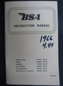 Picture of H/BOOK, BSA, A65, 1966-67