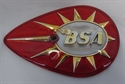 Picture of BADGE, TANK, BSA, RH, RED, T/D