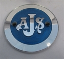 Picture of BADGE, TANK, AJS, RD, SILVER